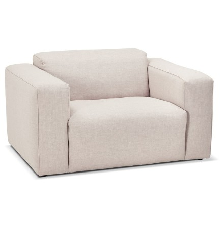 Fauteuil de salon 1,5 places 'CANYON MINI' beige