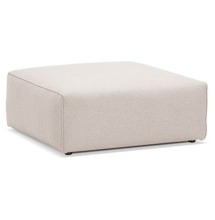 Pouf de canapé design 'CANYON ONE' beige