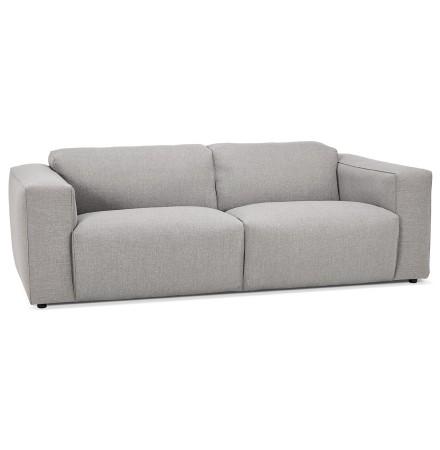 Canapé droit 'CANYON' gris clair - canapé 3 places design