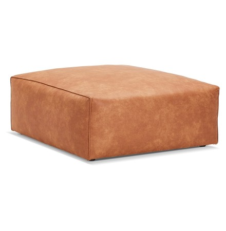 Pouf de canapé design 'COYOT ONE' couleur cannelle