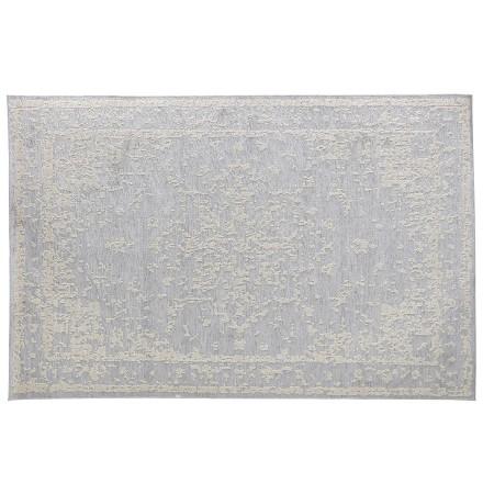 Tapis bohème 'DAVINCI' 160/230 cm motifs gris