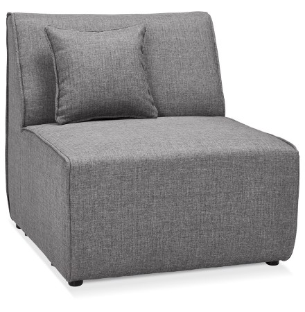 Element 1 place de canape modulable INFINITY SEAT gris clair - Alterego