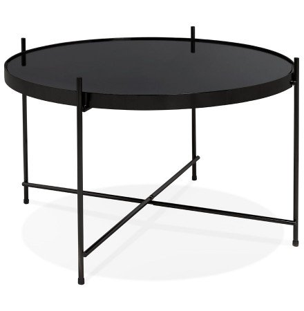 Table basse 'KOLOS MEDIUM' noire