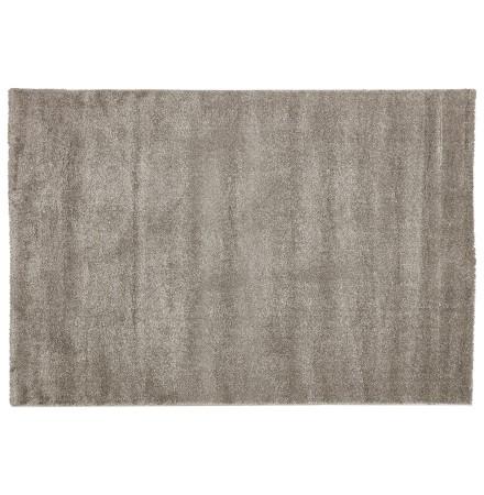 Tapis design LILOU 160x230 cm à poils longs gris - Photo 4