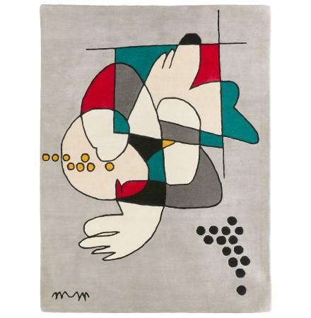 Tapis design 'MOSHI' original fait main - 150x200 cm - édition limitée