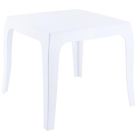 Table d'appoint 'RETRO' design blanche