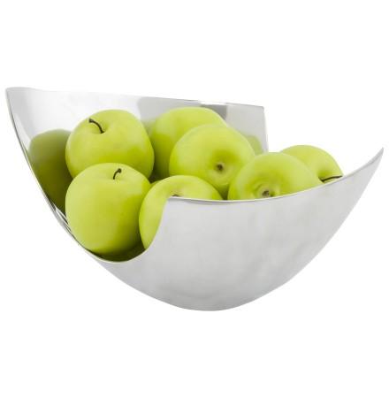 Porte-fruits 'SKARPA' en aluminium