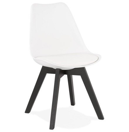 Chaise design 'TAPAS' blanche