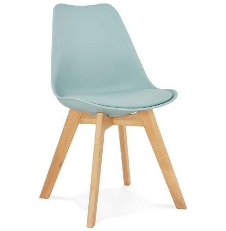 Chaise moderne 'TEKI' bleue