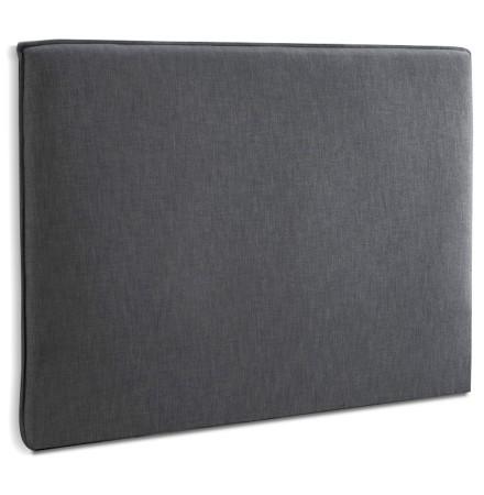 Tête de lit 'TIESTO' 160 avec revêtement en tissu gris anthracite