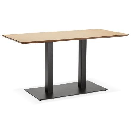 Table / bureau design 'ZUMBA' en bois finition naturelle - 150x70 cm