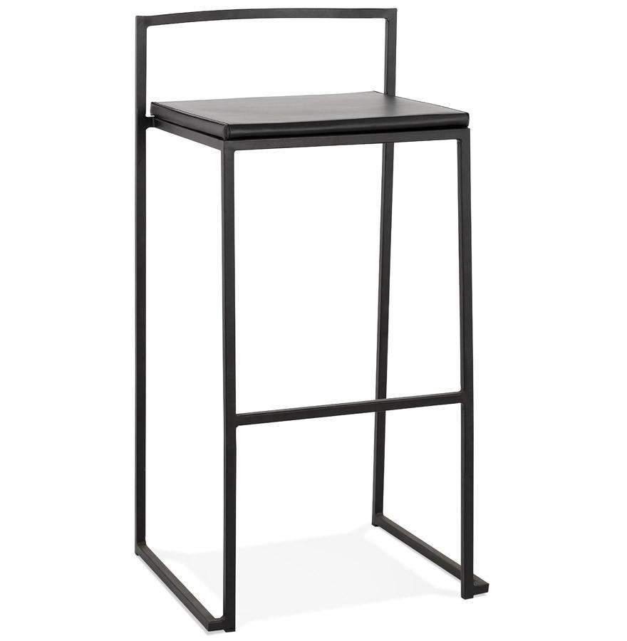 tabouret de bar casa noir style industriel tabouret design. Black Bedroom Furniture Sets. Home Design Ideas