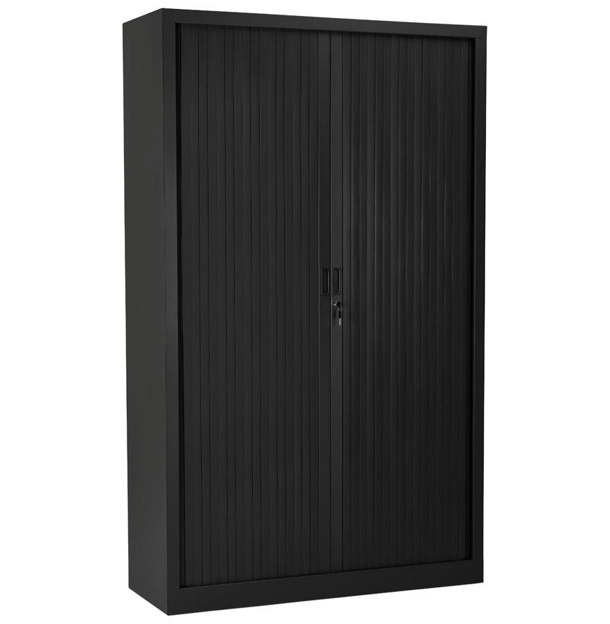 armoire de bureau haute classify noire armoire rideaux. Black Bedroom Furniture Sets. Home Design Ideas