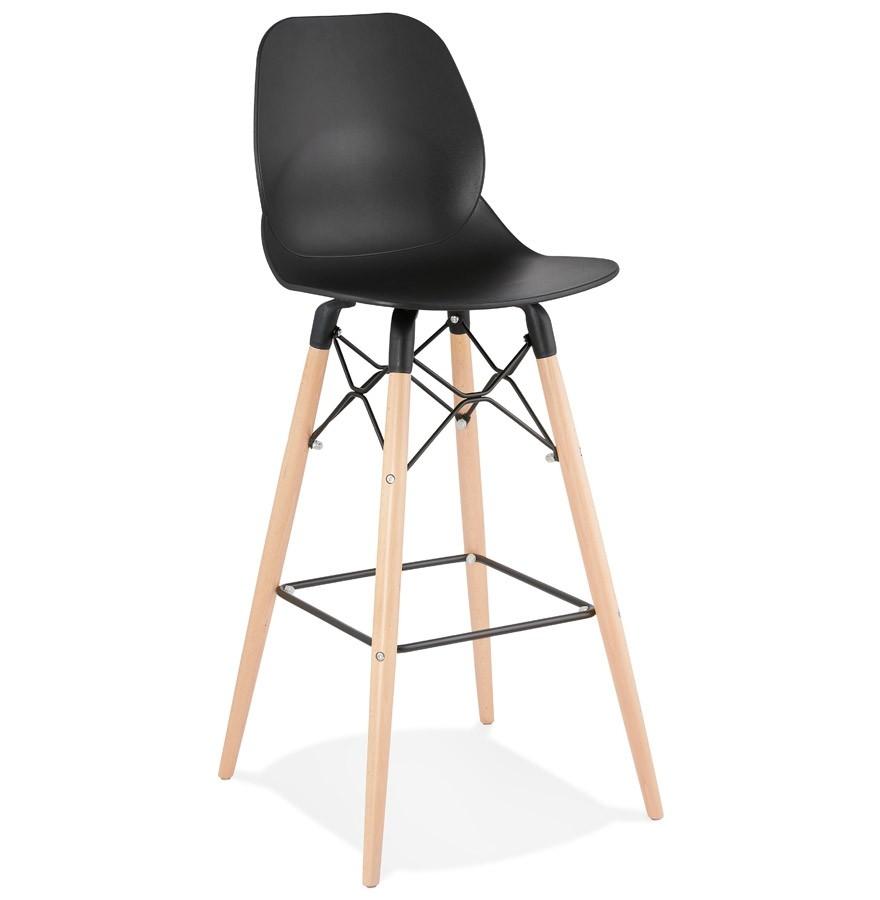 tabouret de bar cosmik noir tabouret design scandinave. Black Bedroom Furniture Sets. Home Design Ideas