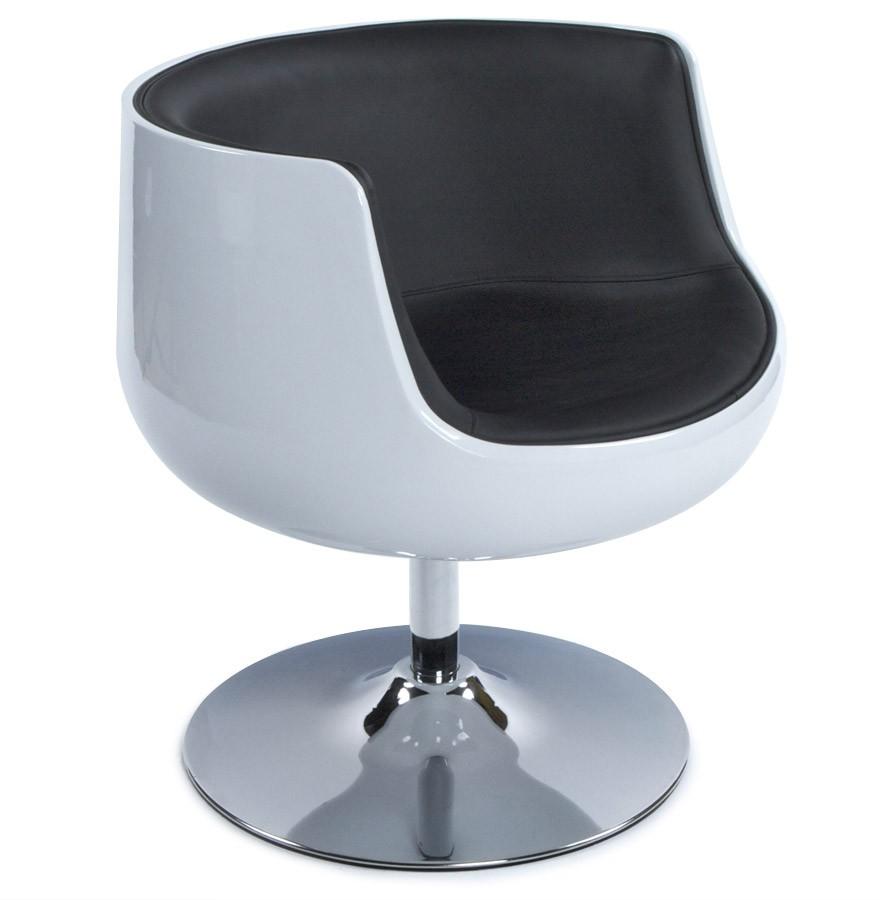 Rotatif 'deko' Et Fauteuil Boule Design Noir Blanc ED9eWH2IYb