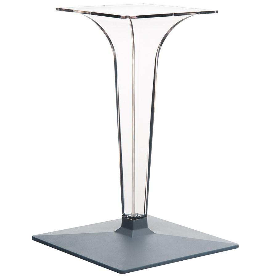 pied de table dimo 70 transparent tr s design. Black Bedroom Furniture Sets. Home Design Ideas