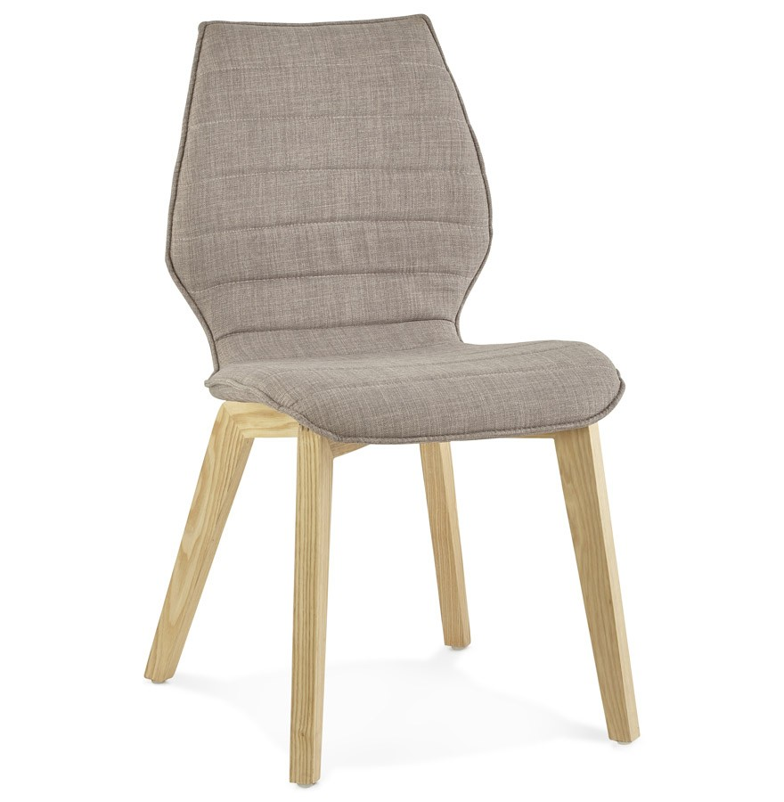 Chaise design linda en tissu chaise au style scandinave for Chaises en tissus design