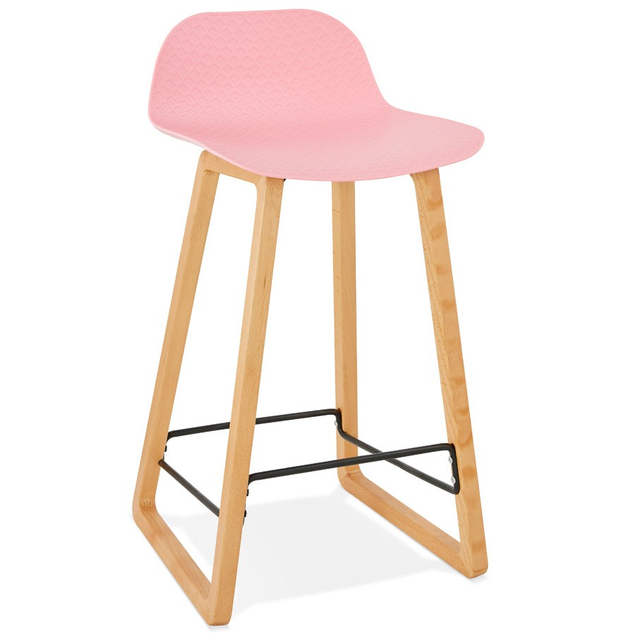 tabouret snack maki mini rose style scandinave tabouret. Black Bedroom Furniture Sets. Home Design Ideas