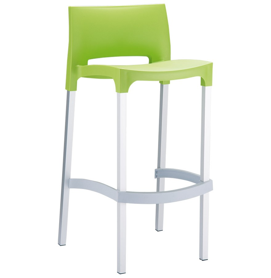 tabouret de bar maty vert pour ext rieur et int rieur. Black Bedroom Furniture Sets. Home Design Ideas