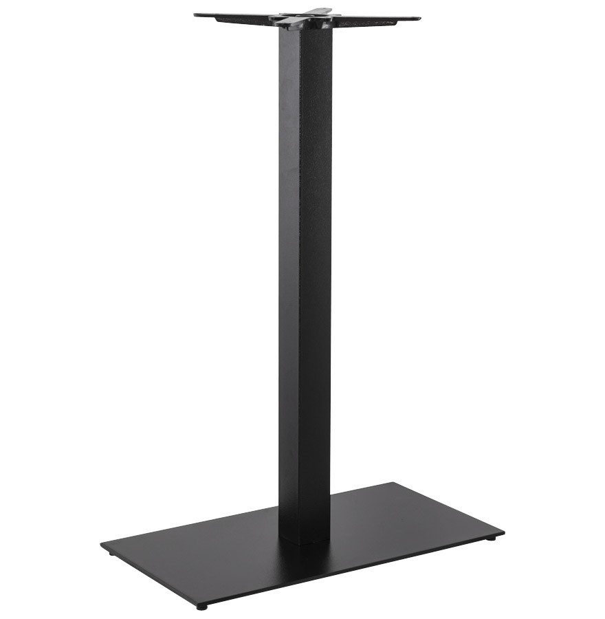 pied de table nero xl 110 noir en m tal alterego design. Black Bedroom Furniture Sets. Home Design Ideas