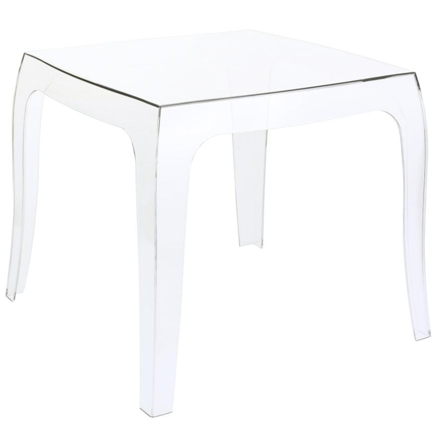 table d 39 appoint retro transparente petite table design. Black Bedroom Furniture Sets. Home Design Ideas