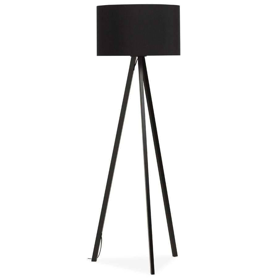 lampadaire tr pied spring noir lampe sur 3 pieds design. Black Bedroom Furniture Sets. Home Design Ideas