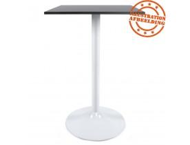 Pied de table 'BIANKO' 110 en métal blanc