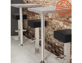 Plateau de table BRUT SQUARE carré 68x68 en bois