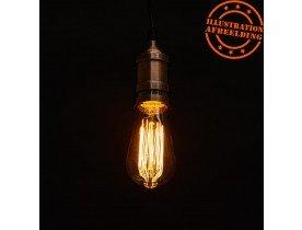 Ampoule vintage 'BUBUL LONG' à filament
