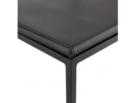 Tabouret de bar design 'CASA' noir style industriel empilable