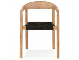 Chaise design 'CORDON' en bois intérieur / extérieur - commande par 2 pièces / prix pour 1 pièce