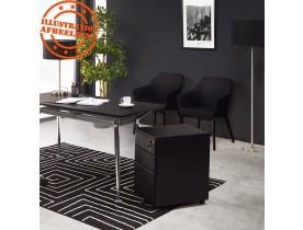 Caisson de rangement 'DALI' noir à tiroirs pour bureau