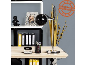 Lampe à poser de bureau / de lecture 'ENNA' NOIR