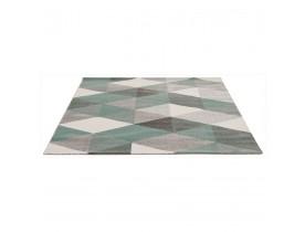 Tapis design 'GRAFIK' 160/230 cm avec motifs graphiques verts
