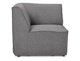 Élément coin de canapé modulable 'INFINITY CORNER' gris clair