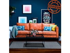 Canapé droit design 'JANE' couleur naturelle - canapé 3 places