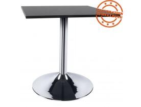 Pied de table 'KROMO' 75 en métal chromé