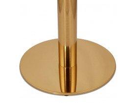 Pied de table rond 'LIDO' 75 en métal doré