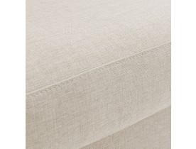 Pouf de canapé design 'LUCA ONE' beige