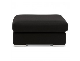 Pouf de canapé design 'LUCA ONE' noir