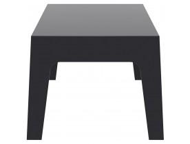 Table basse 'MARTO' noire en matière plastique