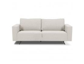 Canapé droit design 3 places 'MOZART' beige