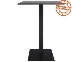 Pied de table 'NERO' 110  noir en métal