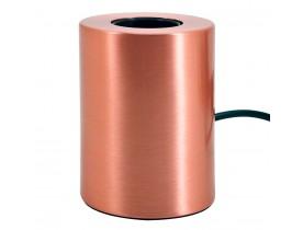 Pied de lampe de table 'NIGRI' en métal cuivré
