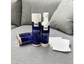 Kit d'entretien textile 'ROYALTEX' - Produits pour nettoyer et protéger le tissu
