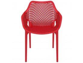 Chaise de jardin / terrasse 'SISTER' rouge en matière plastique