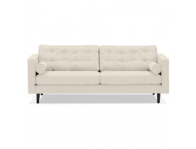 Grand canapé droit 'STAGU XL' en tissu beige - Canapé 3 places