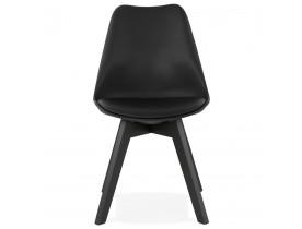 Chaise design 'TAPAS' noire