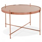 Table basse 'KOLOS MEDIUM' couleur cuivre