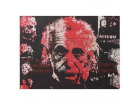 Tableau design 'ALBERT' Einstein toile imprimée 120x90cm